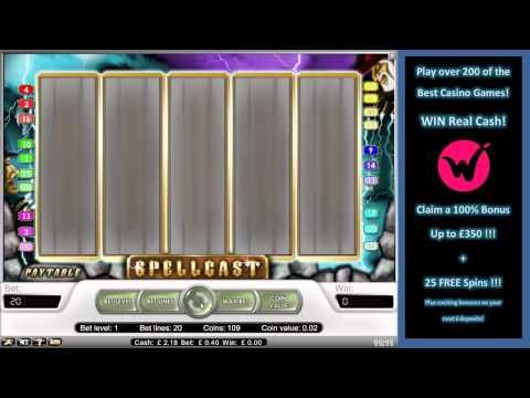 Spellcast Slots- Go on a Magical Slots Adventure & WIN Big Jackpots