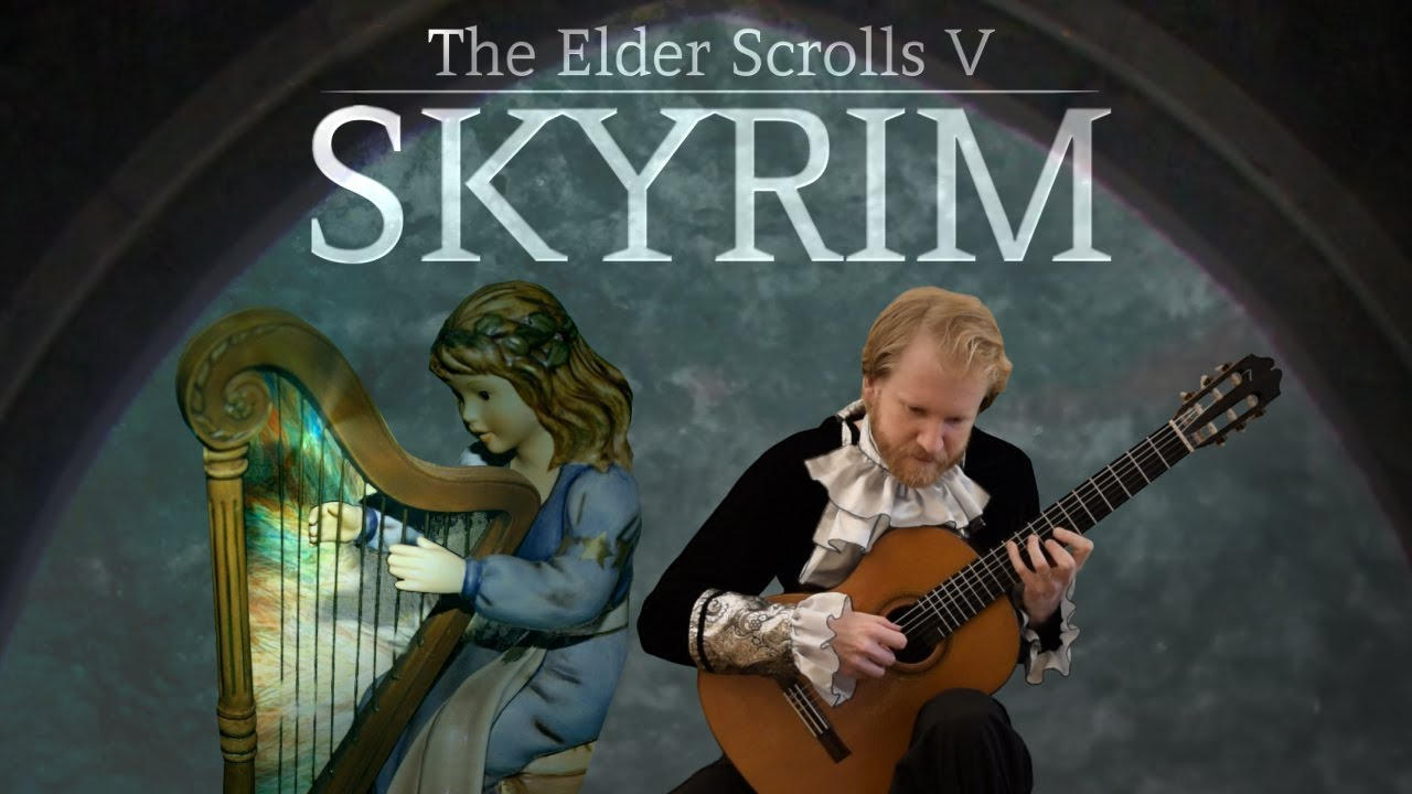 The Elder Scrolls V: Skyrim – From Past to Present (Acoustic Classical Guitar Fingerstyle Cover)