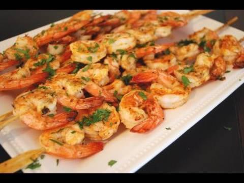 Grilled Chili Garlic Shrimp Super Bowl Appetizers