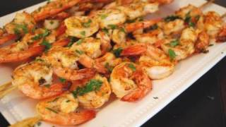 Grilled Chili Garlic Shrimp Super Bowl Appetizers