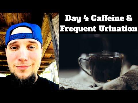 Caffeine and Frequent Urination - No Caffeine Day 4