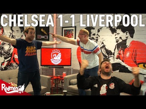 FANS REACT TO CHELSEA 1-1 LIVERPOOL WITH STURRIDGE EQUALISER!
