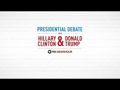 Watch the final 2016 presidential debate between Hillary Clinton and Donald Trump