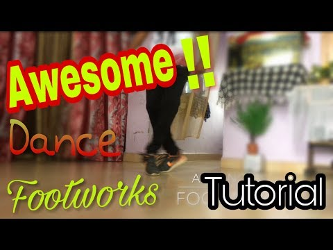 Awesome Dance Footworks!! You Should Learn | Steps From Main Hoon by Tiger Shroff (Tutorial)