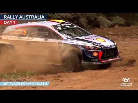 Rally Australia Day One - Hyundai Motorsport 2017