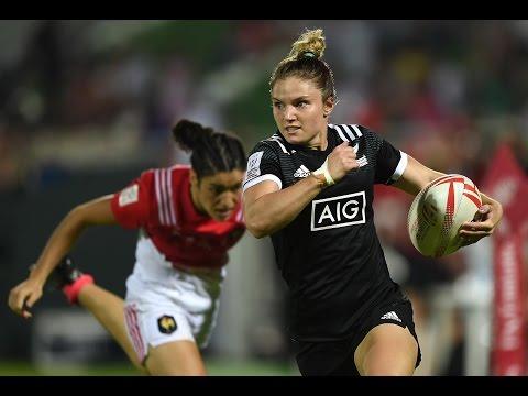 New Zealand Women's at Dubai 7s 2016