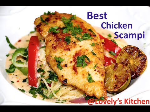 Best Chicken Scampi(Olive Garden Style) From Lovely's Kitchen