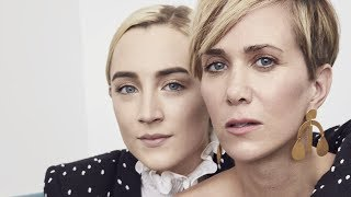 Video Actors on Actors: Saoirse Ronan and Kristen Wiig (Full Video) MP3, 3GP, MP4, WEBM, AVI, FLV Maret 2018