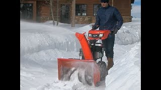 1. Simplicity Dual-Stage Snowblower Features