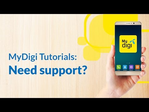 Let us help you out via the new MyDigi app thumbnail