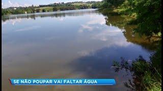 Nível das represas que abastecem Sorocaba está baixo e preocupa autoridades