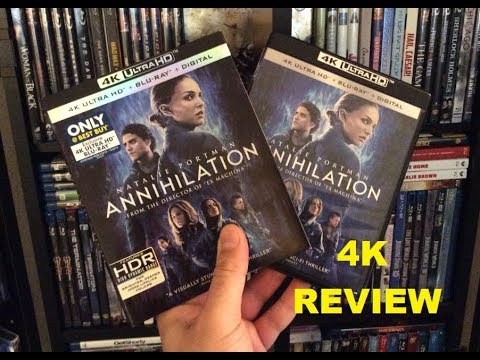 Annihilation 4K BLU RAY REVIEW + Unboxing