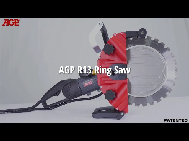 AGP R13 Ring Saw - overview
