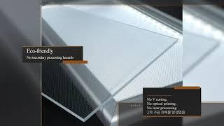 video thumbnail Extruded Light Sheet for led lighting panel youtube