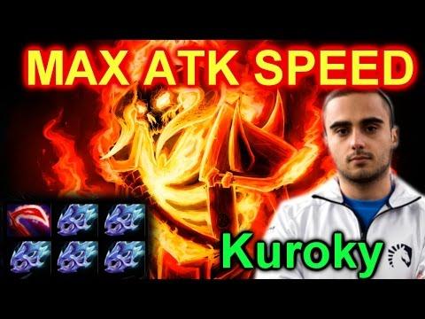 Dota 2 Kuroky Clinkz: MAX ATK SPEED