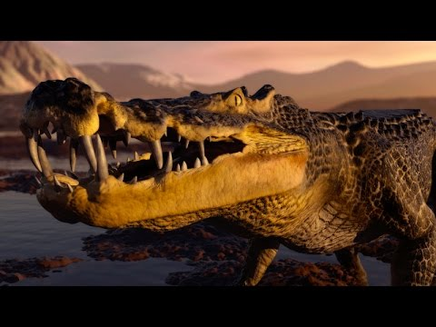 Dinosaurs Documentary || BBC Planet Dinosaur Ep 1 The Watering Hole