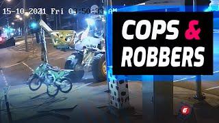 Ukradł motocykle w nietypowy sposób. Policjanci dosłownie oniemieli