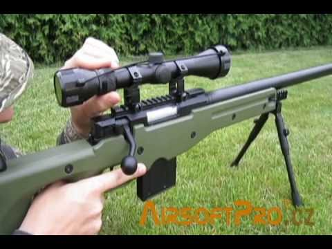 Well L96 AWP(S) MA4401D Sniper Rifle