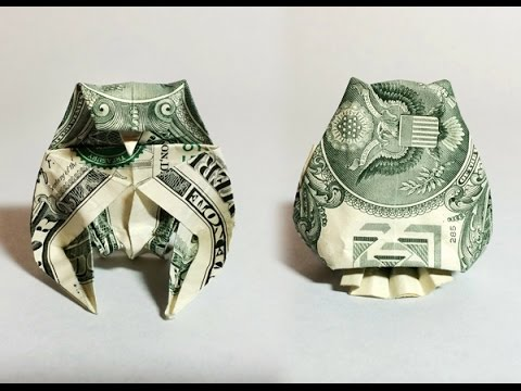 Easy Origami Turtle Dollar Bill Origami Tutorial Lets Make It