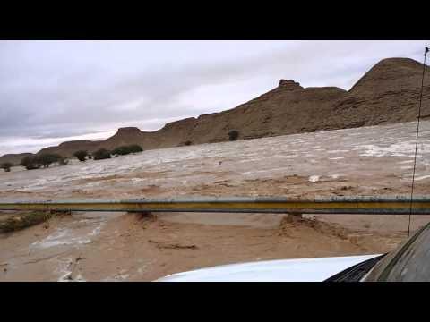 سيول الأفلاج القوية جدا ..لقطة رائعة HD