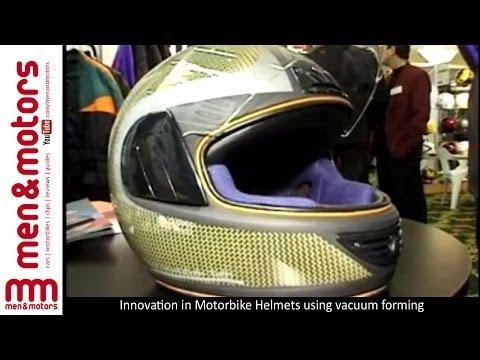 Innovation In Motorbike Helmets - Carbon Kevlar