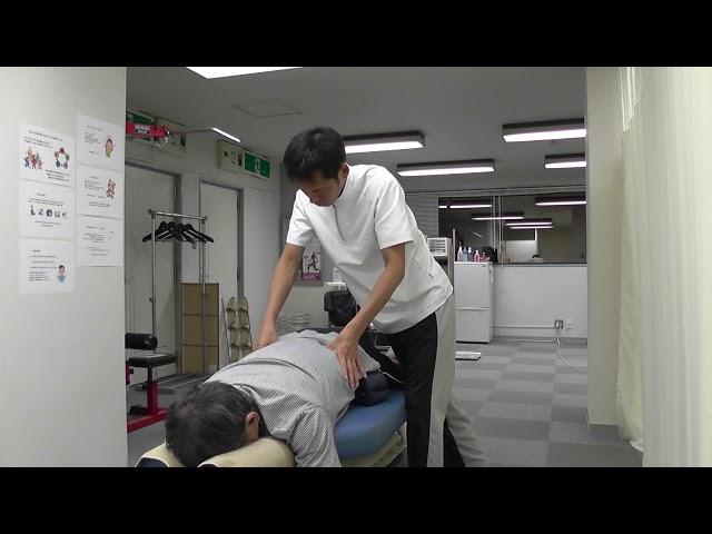 【施術動画】腰椎すべり症 ブロックを使った施術