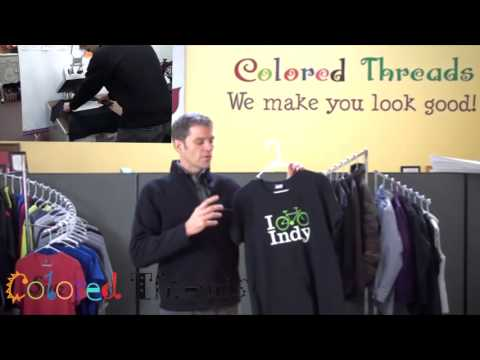 Promotional Embroidery and Logo Wear – Colored Threads