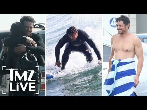 James Franco Hits The Beach With His Girlfriend! | TMZ Live