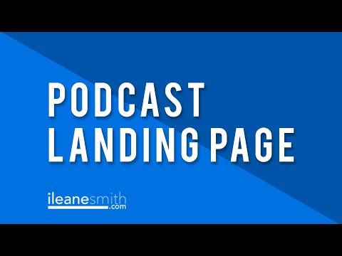 Watch 'The Best Landing Page To Promote Your Podcast '