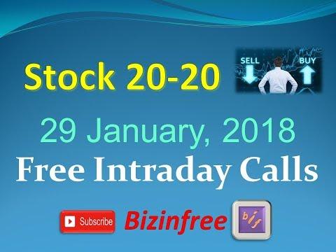 Фрее Интрадаи Типс Стокк20-20 фор 29 Джанаари 2018
