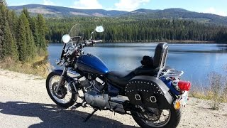 10. Yamaha V Star 250 Highway Climb and Simple Mods