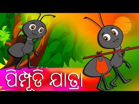 ପିମ୍ପୂଡି ଯାତ୍ରା-Odia Fairy Tales-Odia Story for Morals || ODIA GAPA || Odia Cartoon-Aaima Kahani