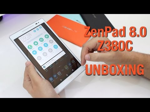 ASUS ZenPad 8.0 (Z380C) and Power Case: Unboxing and first impressions