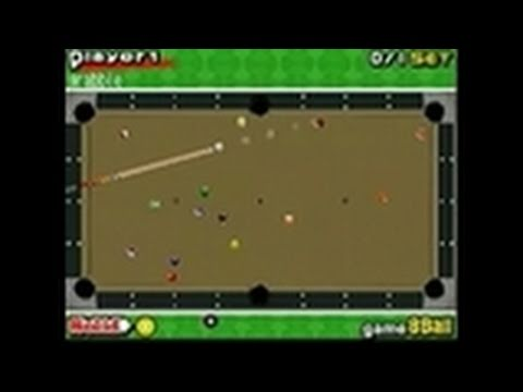 billiard action nintendo ds game