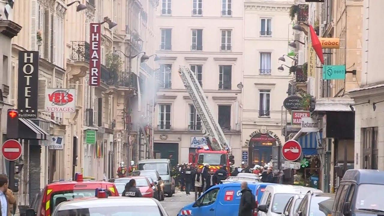 2 νεκροί πυροσβέστες και 36 τραυματίες από έκρηξη αερίου στο Παρίσι