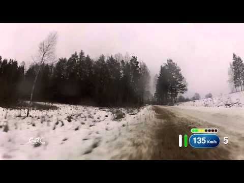 FIA ERC Rally Liepāja - Lukyanuk Ground OBC