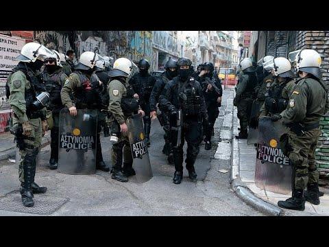 Μεγάλη επιχείρηση της αστυνομίας στα Εξάρχεια