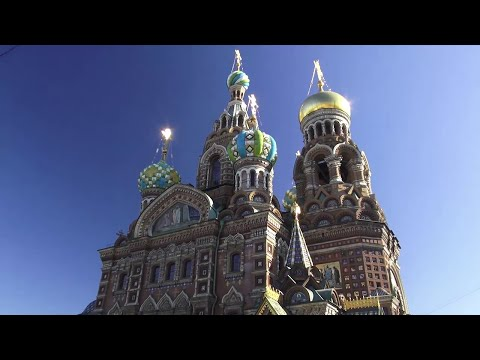 Navegando de San Petersburgo a Moscú