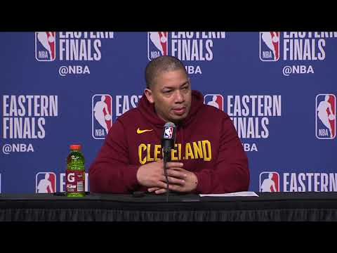 Tyronn Lue Postgame Interview - Game 2 | Cavaliers vs Celtics | May 15, 2018 | 2018 NBA East Finals