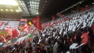 "Video Anfield Sings Amazing Version Of Liverpool FC's ""You'll Never Walk Alone"" vs Villarreal (May 2016) MP3, 3GP, MP4, WEBM, AVI, FLV April 2019"