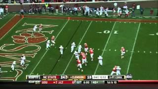 Tajh Boyd vs NC State (2012)