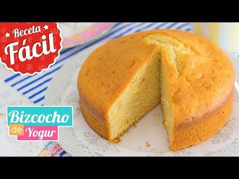 BIZCOCHO DE YOGUR   Receta fácil   Quiero Cupcakes!