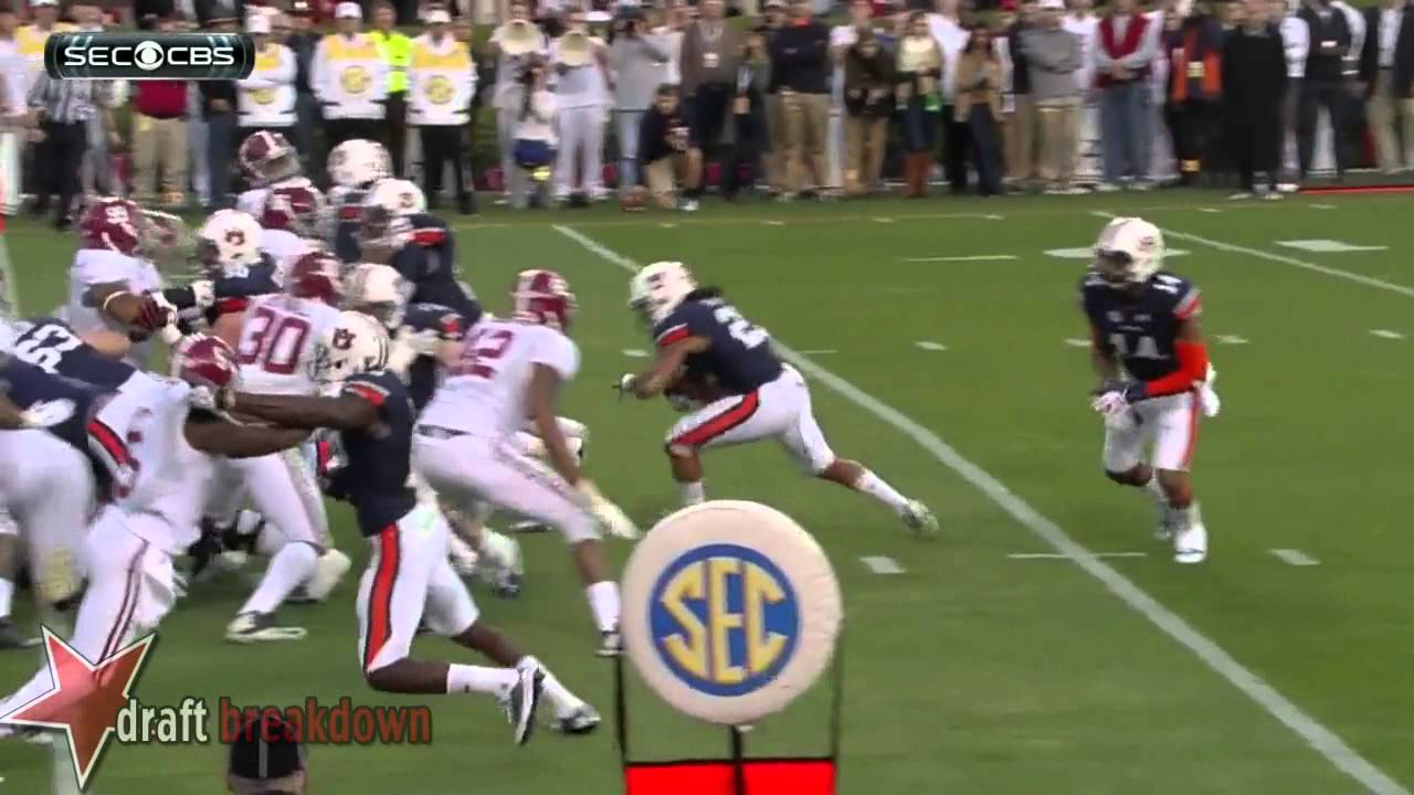 Tre Mason vs Alabama (2013)