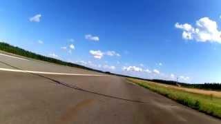 9. Lentokenttäajot 2.8.2014 Aprilia RSV1000R Factory -05 top speed