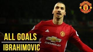 Video Zlatan Ibrahimovic | All the Premier League Goals (16/17) | Manchester United MP3, 3GP, MP4, WEBM, AVI, FLV Oktober 2018