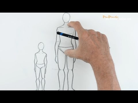 Draw People: Part 1  - Proportion