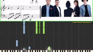MBand - Посмотри на меня (3 стр) (Детский альбом) (Ноты и Видеоурок для фортепиано)