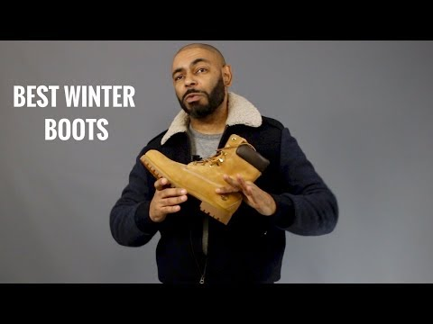 Top 8 Best And Most Stylish Men's Winter Boots