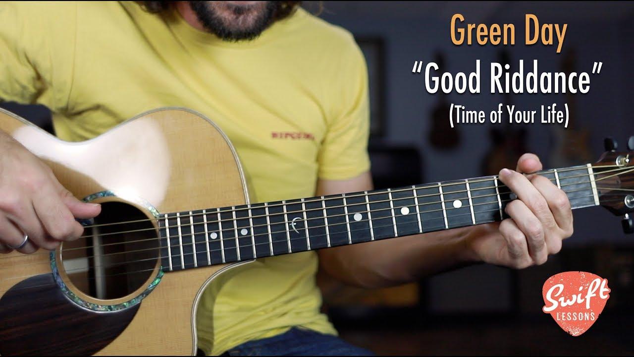 "Green Day ""Good Riddance"" Guitar Lesson – Easy Beginner Songs"