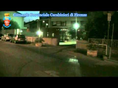 Video uscita mezzi dopo l'arresto